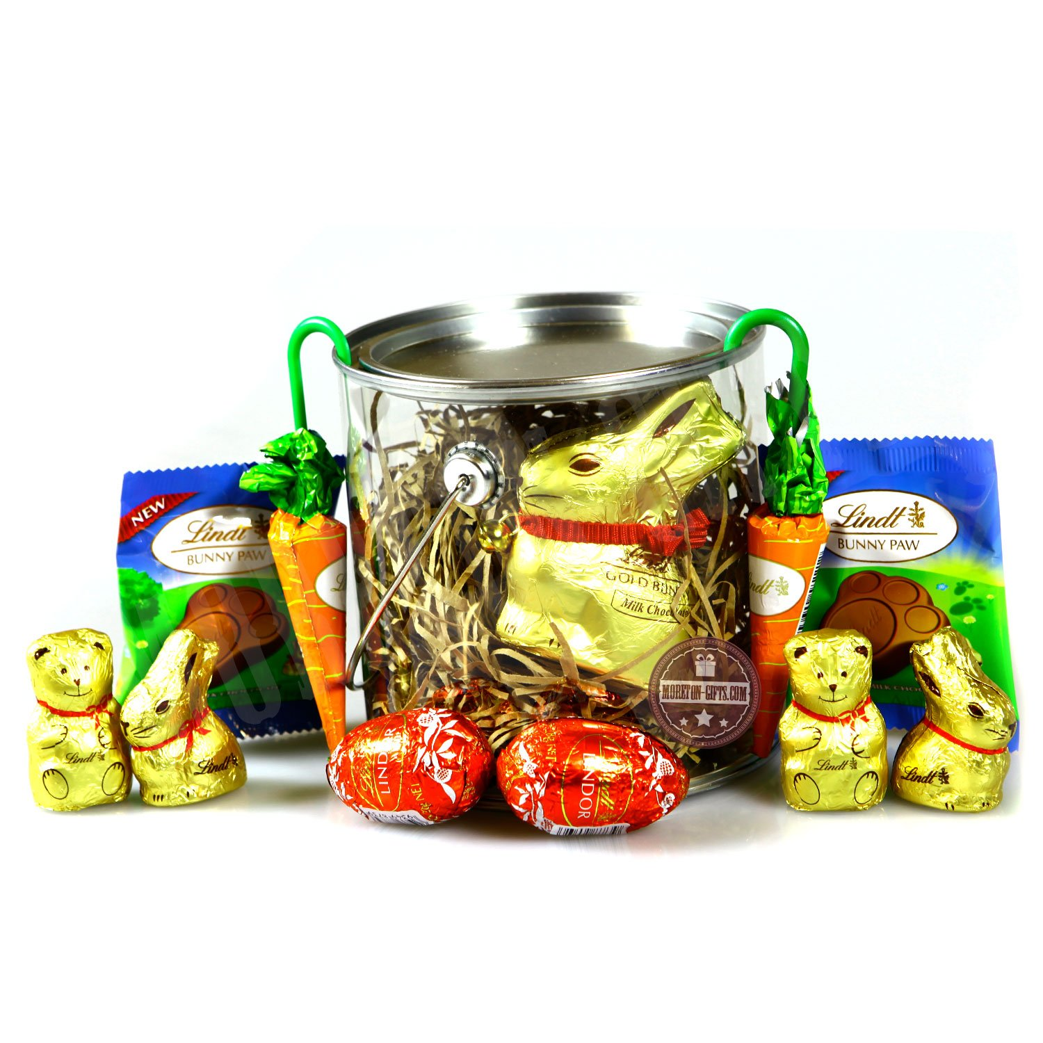 Amazoncom Lindt Easter Treats Bucket By Moreton Gifts