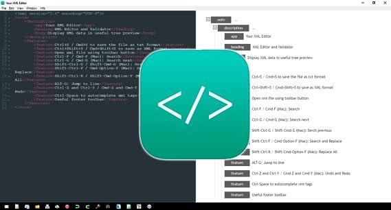 Amazon com: XML Editor [Download]: Software