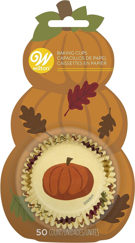 Wilton Pumpkin Baking Cases, Assorted
