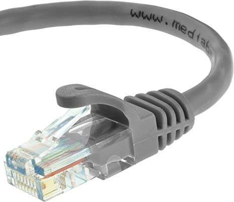 15 Gray Cat5E Ethernet Patch Cable