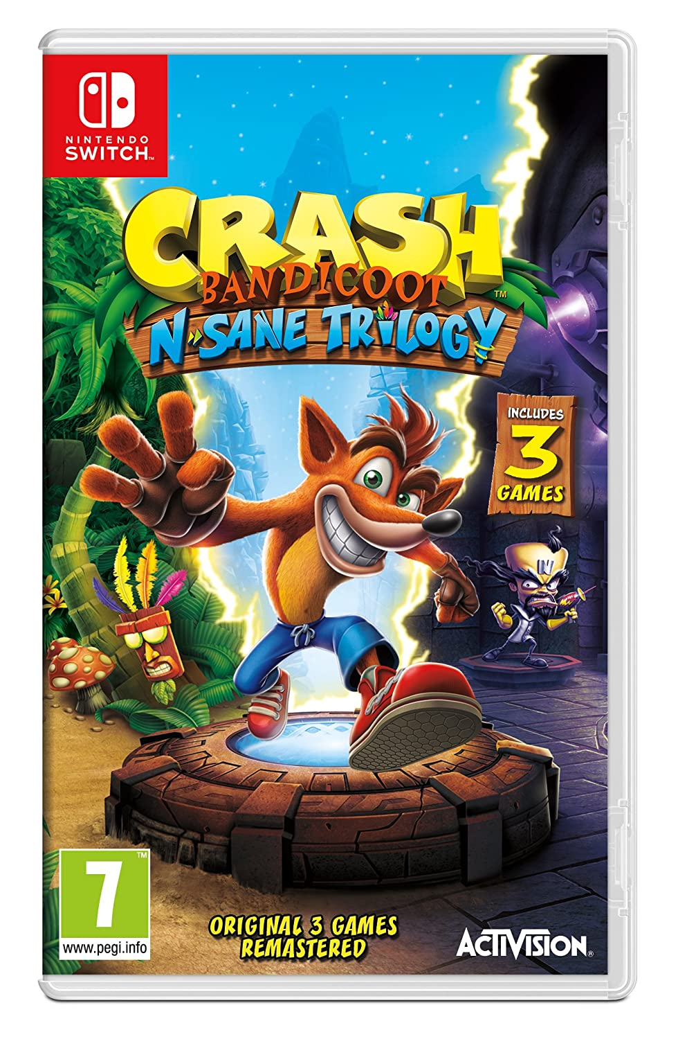 Crash Bandicoot N Sane Trilogy Nintendo Switch Video Games