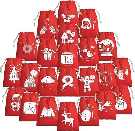 Navidad calendario – Calendario de Adviento para rellenar ...