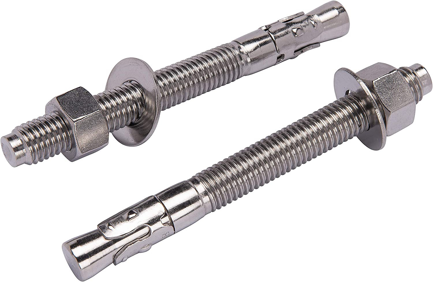 5//16 X 2-3//4 Stainless Wedge Anchor 10pc 18-8 Stainless Steel