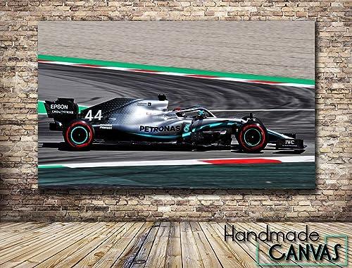 A4 Formula 1 2 famous sport car auto Print poster A0 Mercedes AMG W10 EQ Power