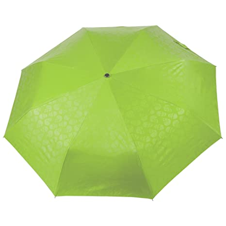 Selección de moda para hombre y mujer compacto paraguas, verde (Verde) - UMBR