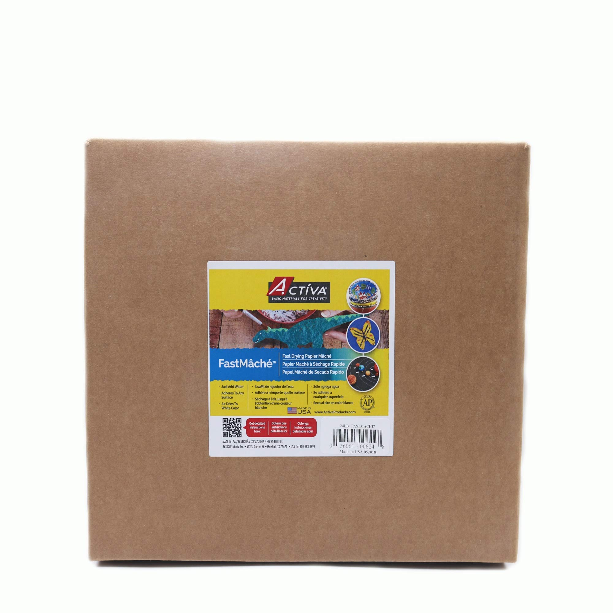 ACTIVA Fast Mache Fast Drying Instant Papier Mache - 24 pounds by Activa Products (Image #1)