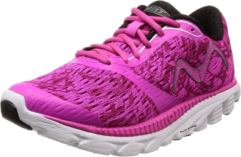 MBT - Zapatillas de Running de Material Sintético para Mujer Negro Negro: Amazon.es: Zapatos y complementos