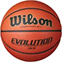 "Wilson 29.5"" Evolution Official Size Game Basketball"