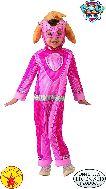 Rubies Disfraz de Skye Paw Patrol de Mighty Pups para niñas, como ...