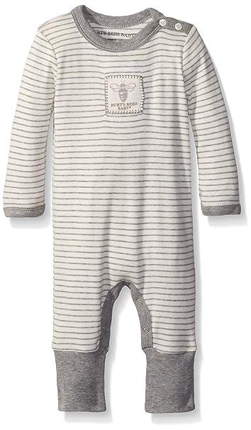 97dd33574b7 Amazon.com  Burt s Bees Baby Baby Boys  Romper Jumpsuit