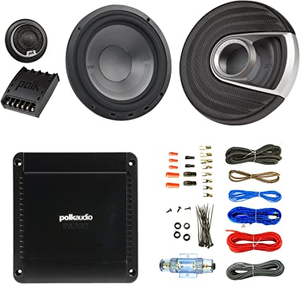 "Polk Audio MM6502 6.5/"" 2-Way Component Set Car Stereo Boat Ultra Marine Speakers"
