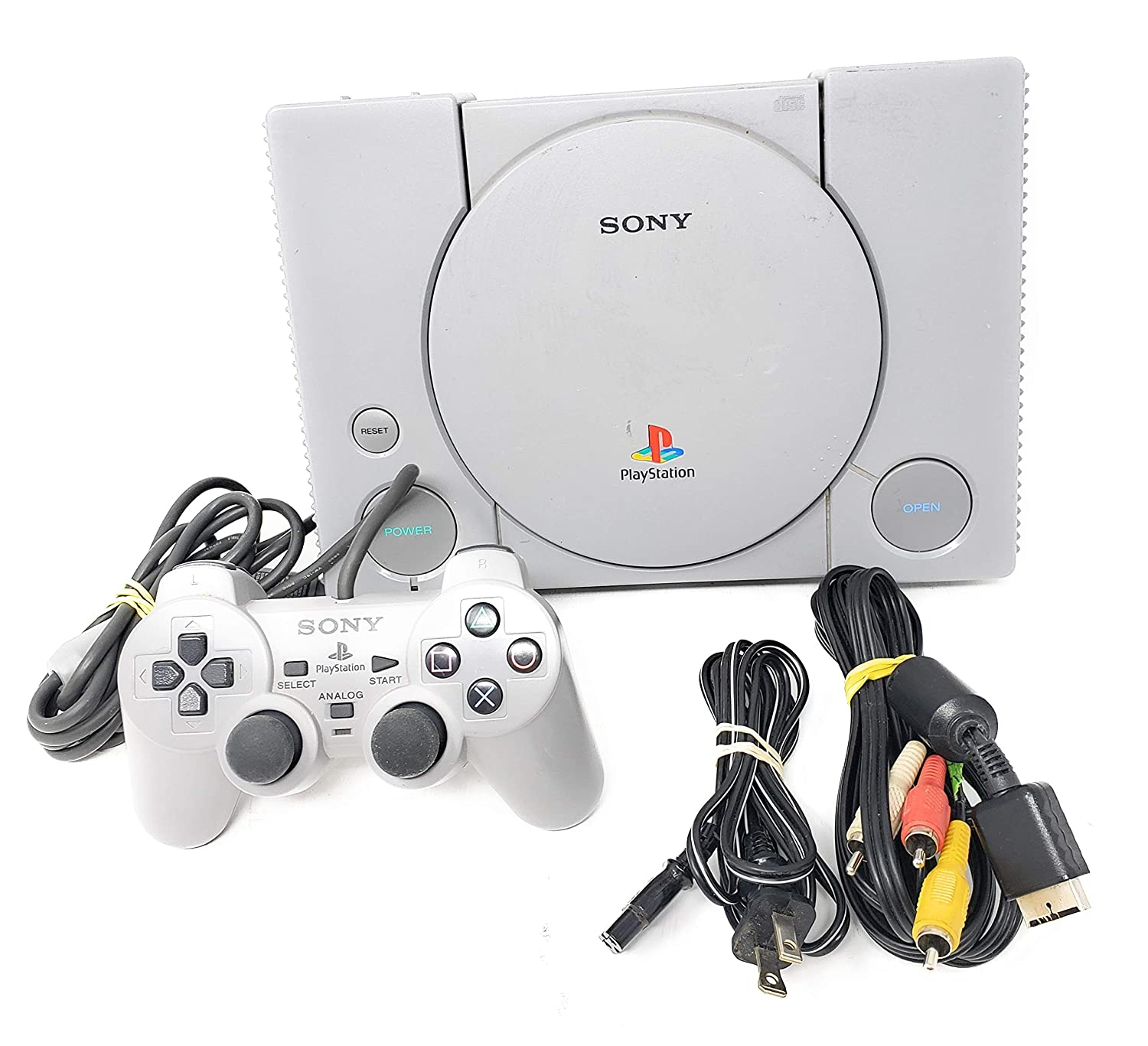 Amazon Com Sony Playstation 1 Complete System Console Ps1 Psx