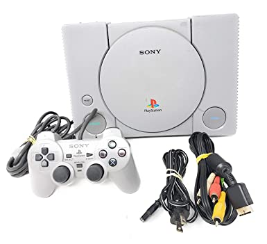 Amazon Com Sony Playstation 1 Complete System Console Ps1 Psx Video Games