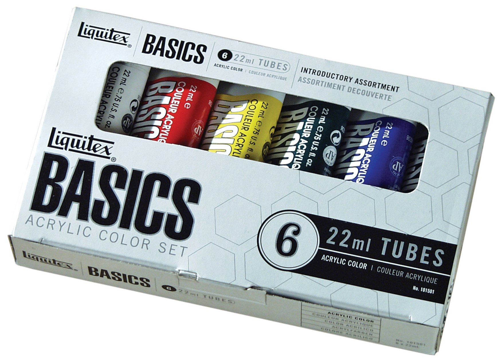 Liquitex Basics Acrylic Paint Tubes - 6 Colors