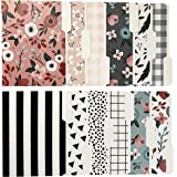 Decorative File Folders – Includes 12 Cute Designs, File Folders Letter Size, 1/3-Cut Tabs, Office Supplies File Organizers, 9.5 x 11.75 Inches