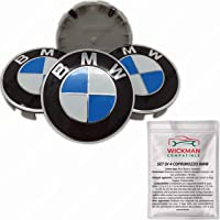 Tapacubos para BMW Diametro esterno: 68 mm BLU