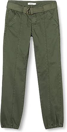 NAME IT Nkfrie Twithilse Cargo Pant Pantalones para Niñas