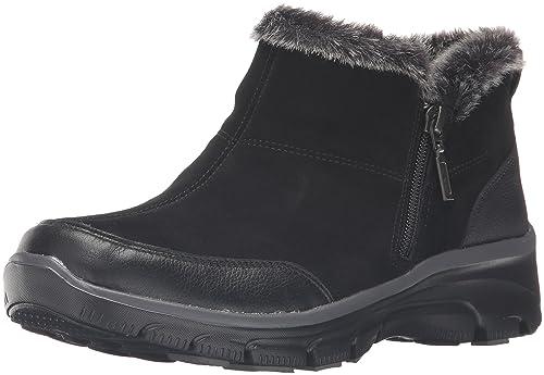 skechers suede boots