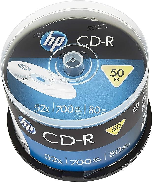 HP hCRE00017 - CD-R (Pack de 52): Amazon.es: Informática