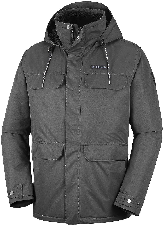Columbia Wasserdichte Jacke für Herren, South Canyon Lined Jacket, Polyester, Grau B07FDG48CQ Jacken Überlegene Qualität