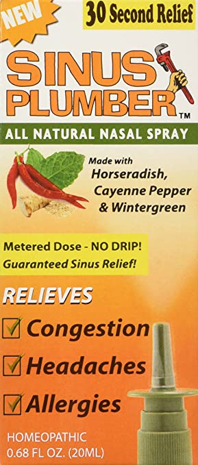 Sinus Plumber Nasal Relief Spray