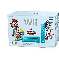 Nintendo Wii + Mario & Sonic at the London 2012 Olympic Games Wifi Azul - Videoconsolas (Wii, Azul, 512 MB, IBM PowerPC, SD, IEEE 802.11b,IEEE 802.11g)
