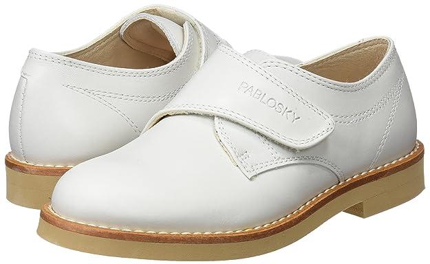 Pablosky 708630, Mocasines para Niños, Blanco, 33 EU: Amazon.es: Zapatos y complementos