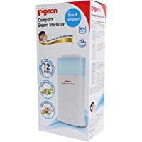 Pigeon Compact Steam Sterilizer, White