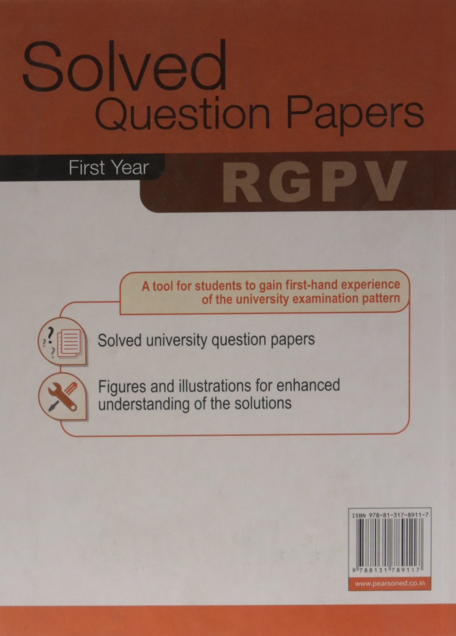 Buy Solved Question Papers of RGPV Book Online at Low Prices