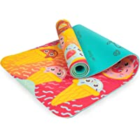 Myga RY1118 Sweet Tooth Bedrukte Yogamat voor kinderen - Trainingsmat voor kinderen voor pilates, antislip…