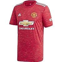 adidas Manchester United Temporada 2020/21 MUFC H JSY Y Camiseta Primera equipación Niños