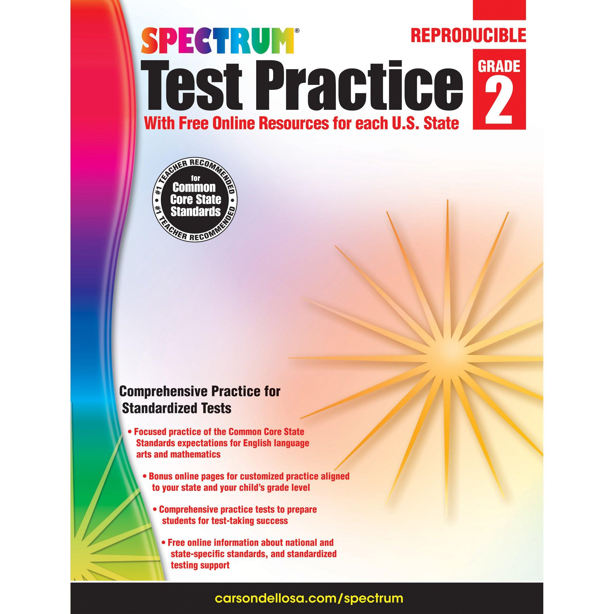 Spectrum Test Practice, Grade 2