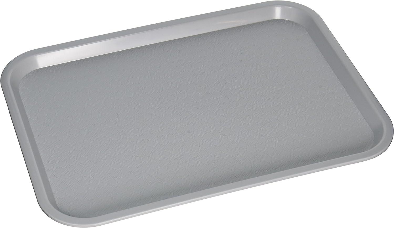 Winco Fast Food Tray, 12 by 16-Inch, Gray,Medium