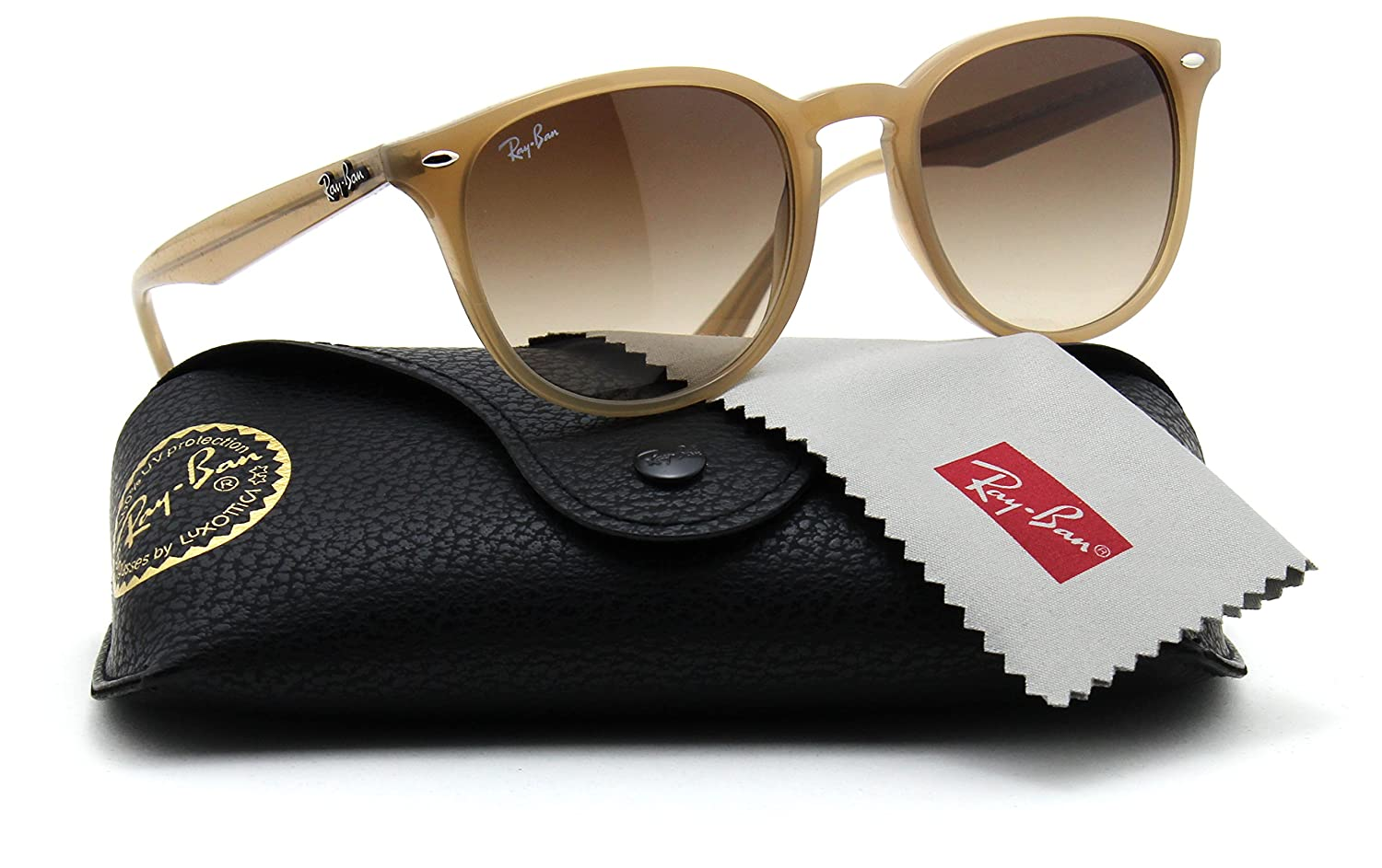 b43cfc40bb Ray-Ban RB4259 616613 Light Brown Frame   Brown Gradient Lens 51mm   Amazon.ca  Clothing   Accessories