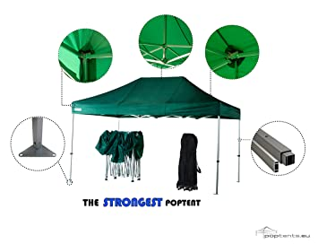 Commercial 3m x 4.5m Waterproof Pop Up Gazebo with Industrial strength and sides included by  sc 1 st  Amazon UK & Commercial 3m x 4.5m Waterproof Pop Up Gazebo with Industrial ...