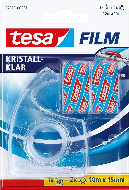 Tesafilm Handabroller Transparent Inkl 2 Rollen Tesafilm Kristall Klar Baumarkt