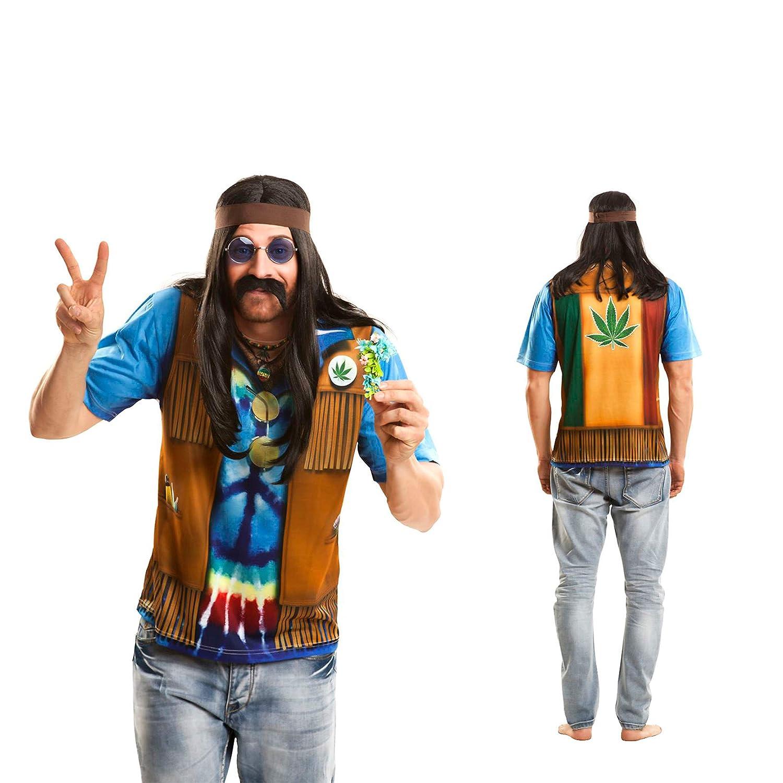 Yijja Fast Fun - Hippie, camiseta de manga corta para adultos ...