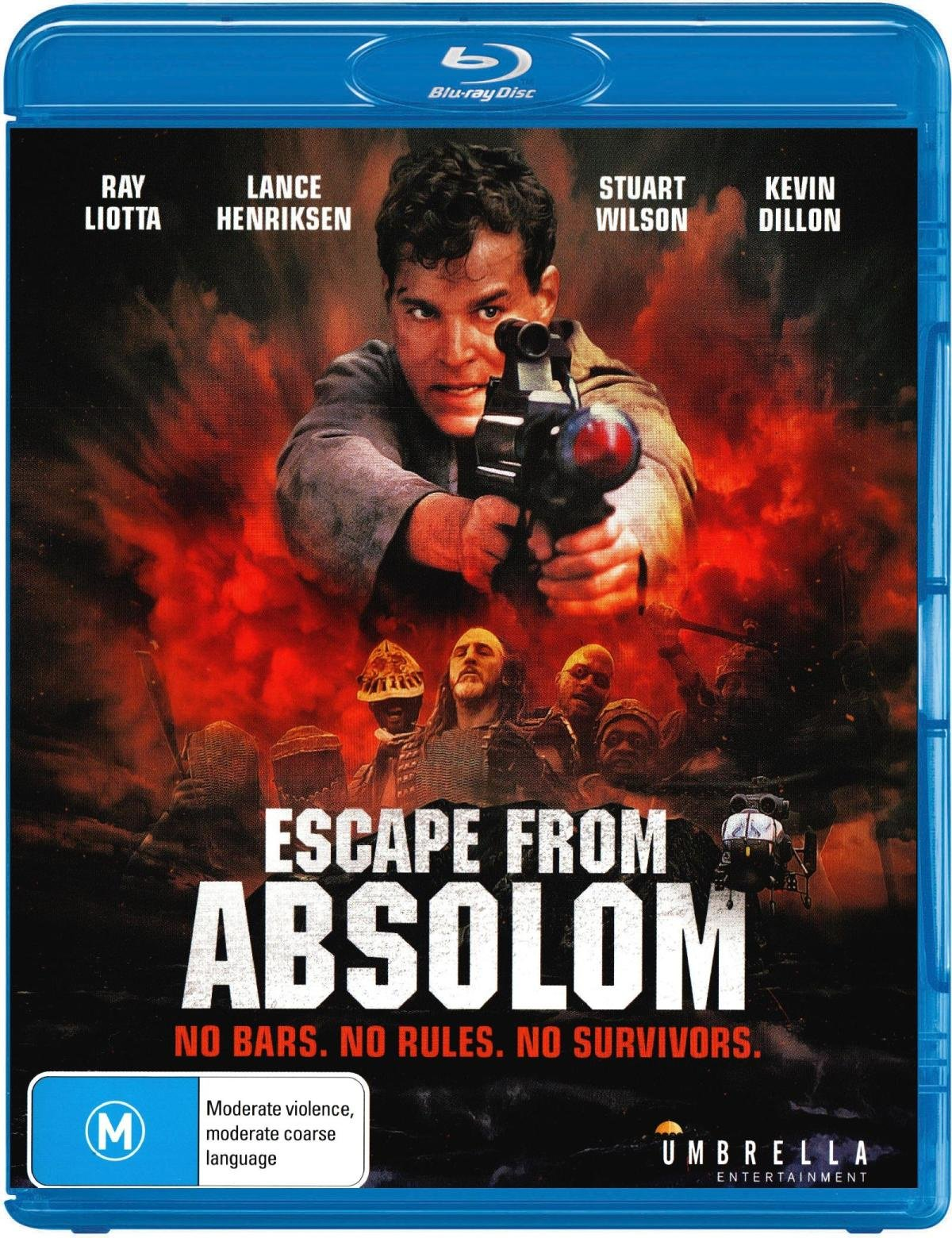 Blu-ray : Escape From Absolom (Australia - Import)