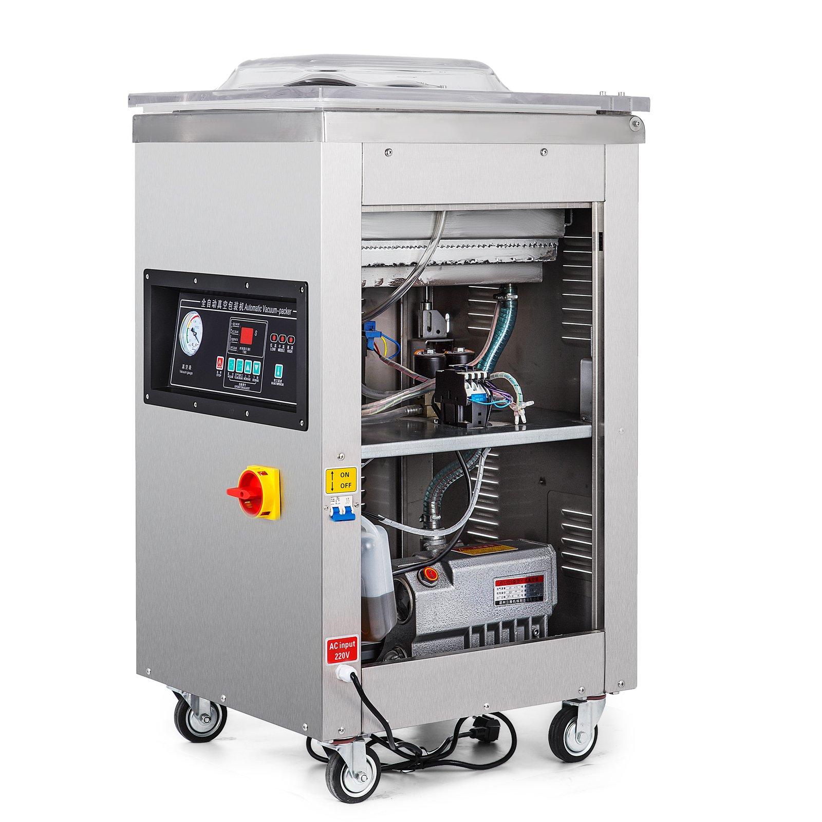 Happybuy DZ-400/2E Chamber Vacuum Sealer 1000W Vacuum Sealer Machine Automatic Vacuum Packing Sealing Sealer Machine for Home or Commercial Use (DZ-400/2E) by Happybuy (Image #4)