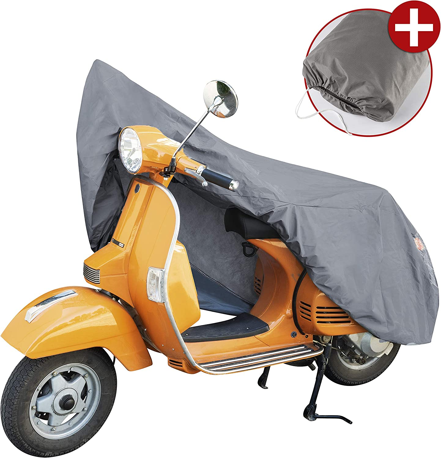 Walser Motorbike Cover Pvc In Grey Motorcycle Cover S Grey Auto