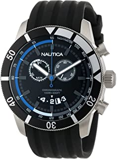 Nautica Mens N17583G NSR 08 Sporty Resin Watch