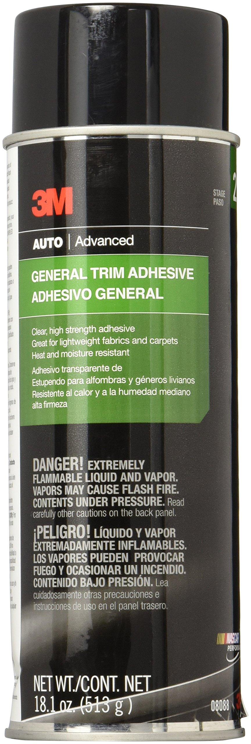 3M 08088 General Trim Adhesive - 18.1 oz. by 3M