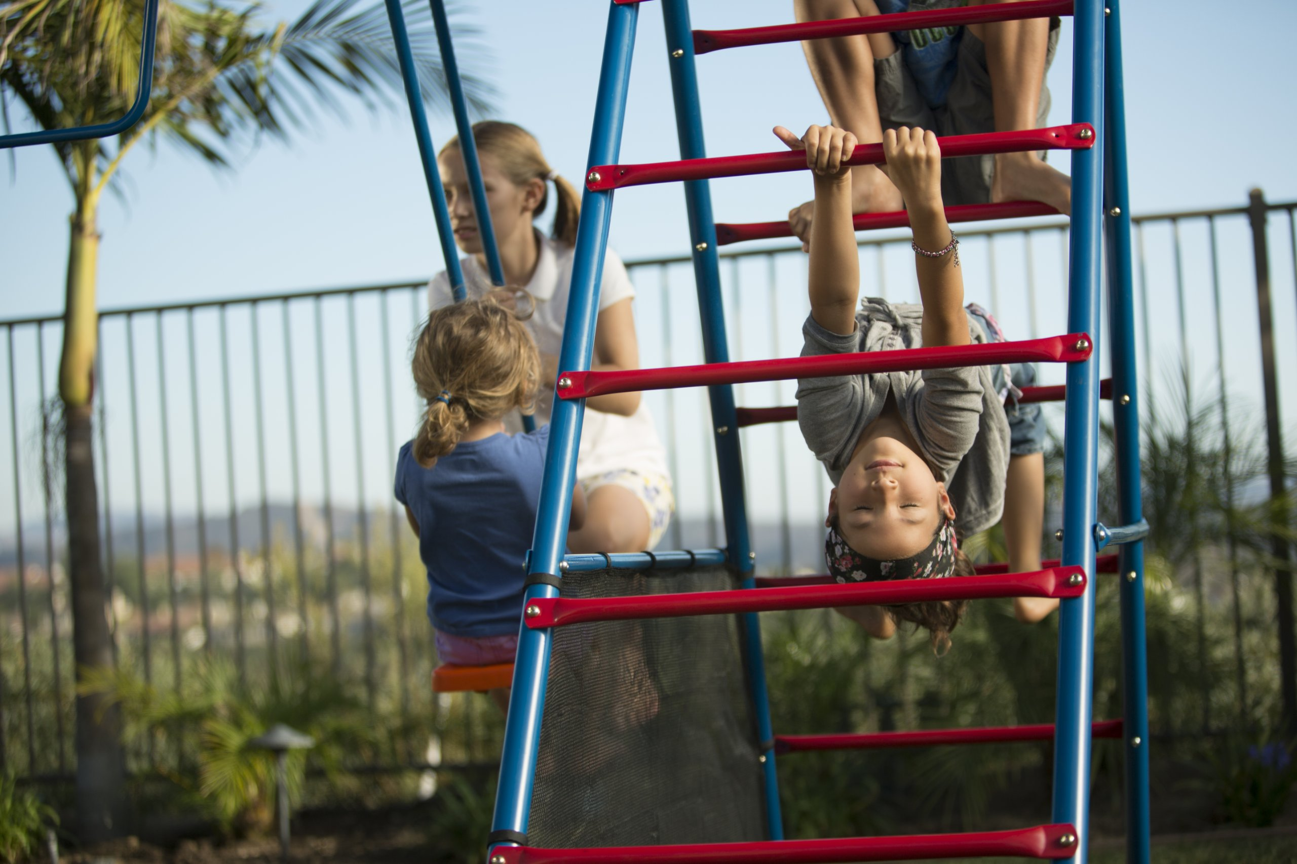 Ironkids Challenge 100 Metal Swing Set with Ladder Climber and UV Protective Sunshade by IRONKIDS (Image #6)