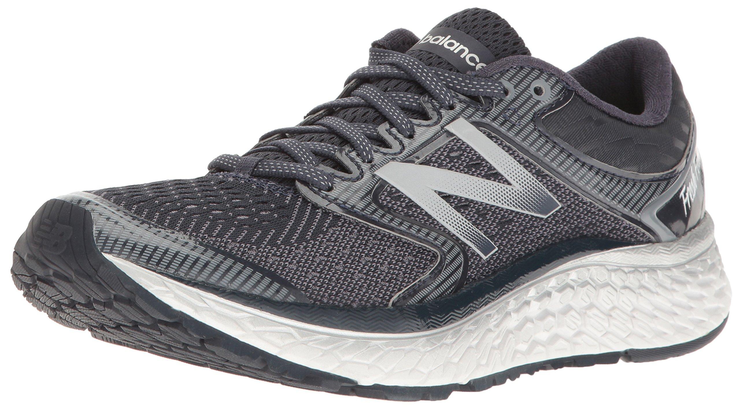 New Balance Women's Fresh Foam 1080v7 Running Shoe, Thunder/White, 6.5 B US