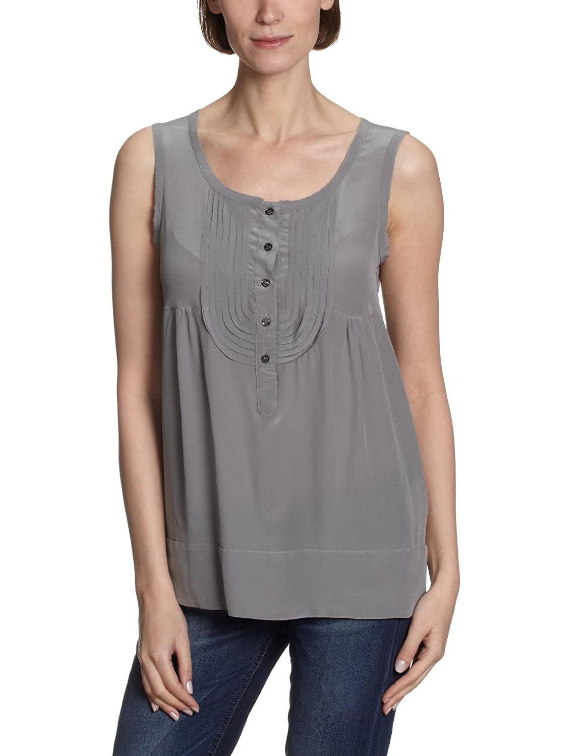 Henry Cotton's Damen Top 120135960800 Seidentop