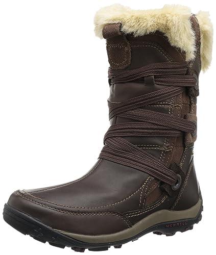 74fb6c780476e Amazon.com | Merrell Women's Nikita Waterproof | Snow Boots