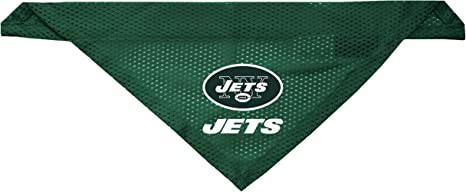 Amazon.com : Littlearth New York Jets Dog Cat Mesh Jersey ...