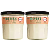 Deals on Mrs. Meyers Clean Day Scented Soy Candle Geranium 7.2 Oz