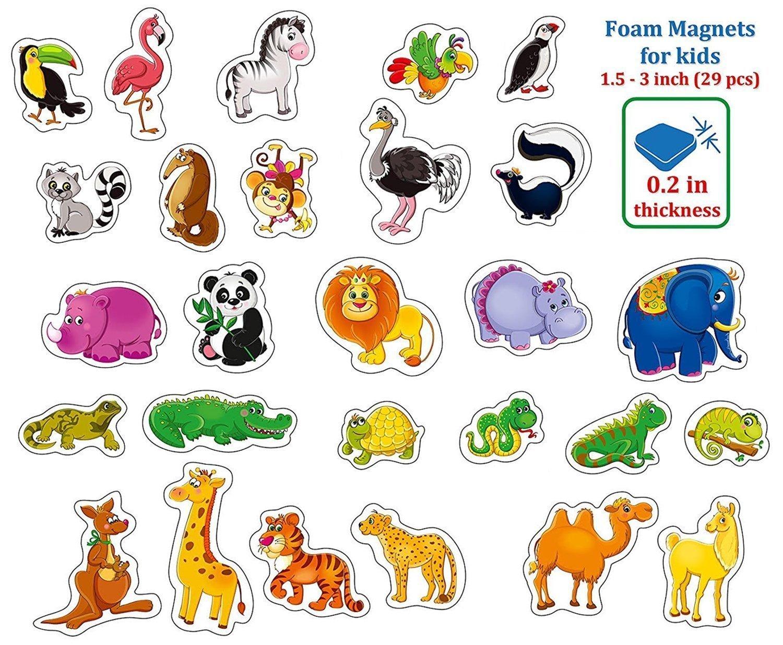 Kids Happy Imanes De Nevera Para Ninos De Animales De Granja 29