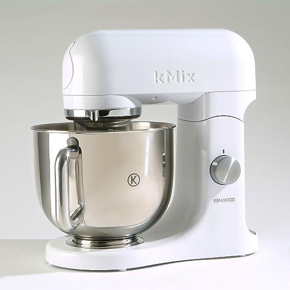 Kenwood KMX51 500W 4.6L Metálico, Rojo - Robot de cocina (4,6 L ...
